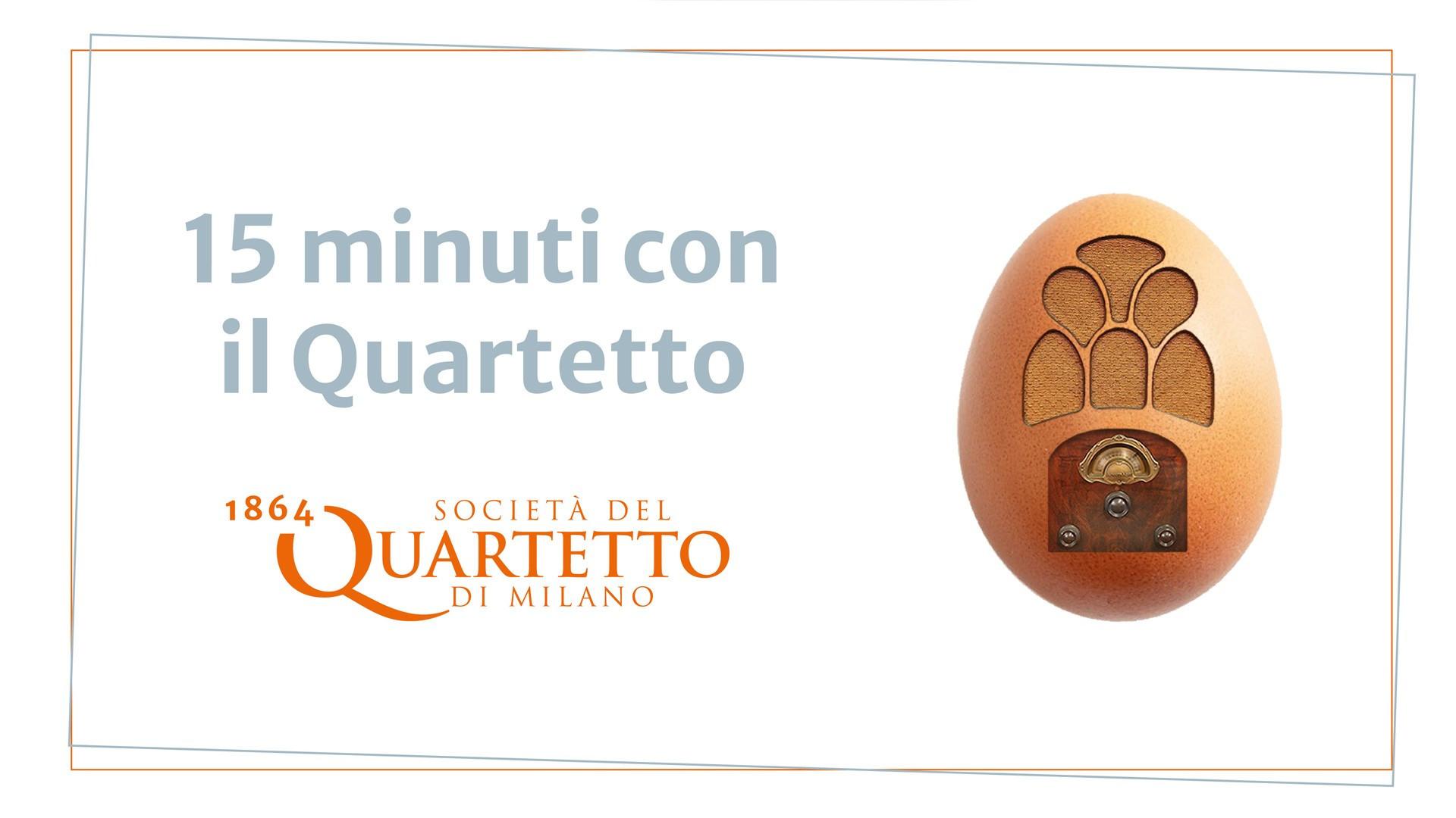 15 minuti con il Quartetto